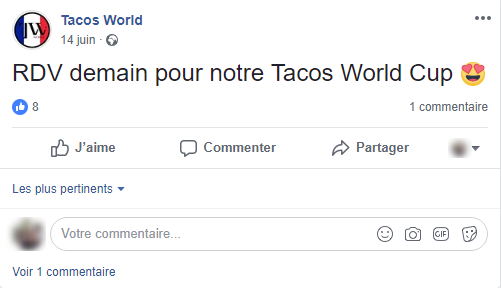 Tacos World exemple